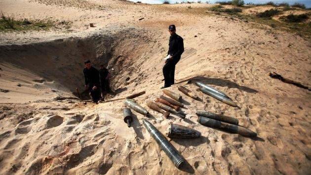 La Fuerza Aérea de Israel ataca la Franja de Gaza