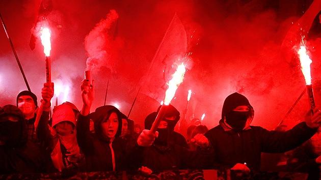 """""""Sector Derecho en Ucrania es un monstruo de Frankenstein creado por Occidente"""""""