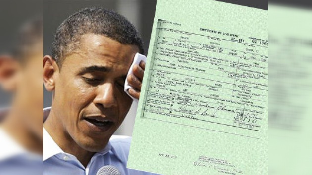 Sheriff Arpaio: ¡Presente su documentación, señor Obama!