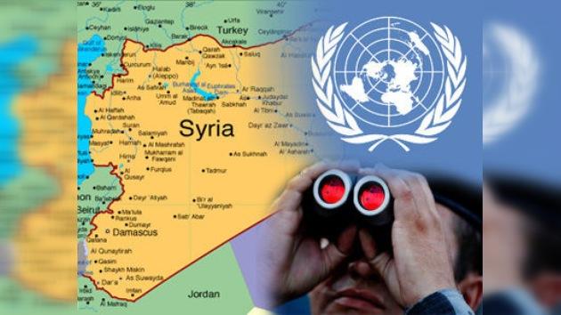 ONU envía a un observador a Siria en medio de sugerencias de una intervención extranjera