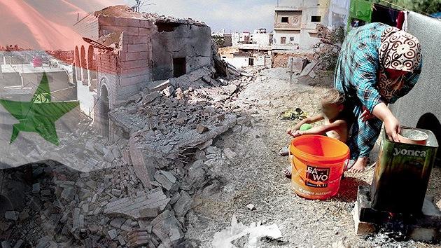 La guerra estrangula lentamente la economía de Siria