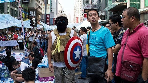 Medios chinos: ¿Se involucrará EE.UU. en las protestas en Hong-Kong?