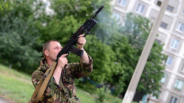 Las autodefensas de Lugansk se apoderan de aviones no tripulados del Ejército ucraniano
