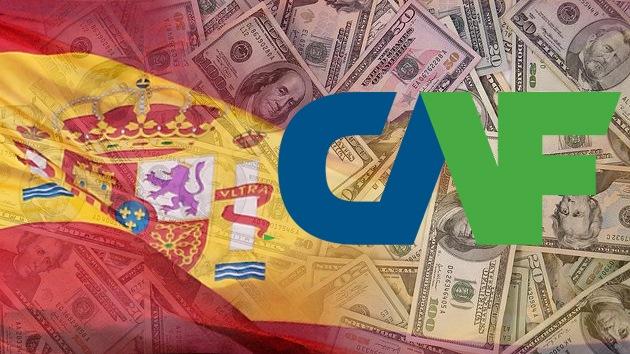 El Banco de Desarrollo de América Latina concede un crédito millonario a España