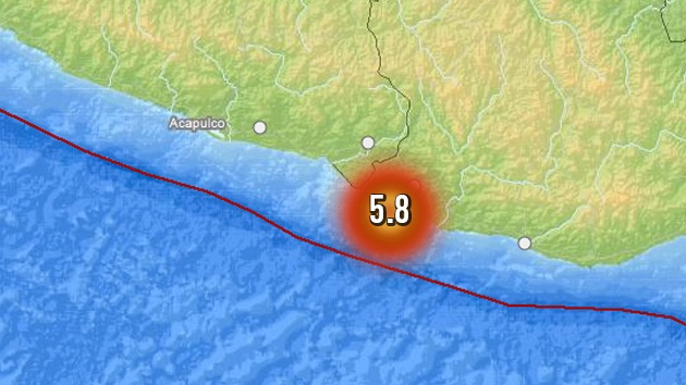 Un sismo de magnitud 5,8 sacude la capital de México
