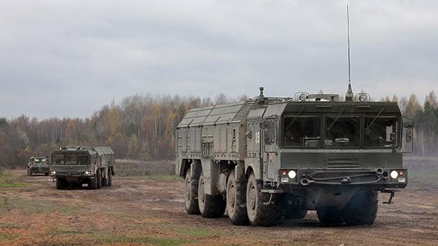 Rusia despliega su sistema de misiles Iskander en el sur del país