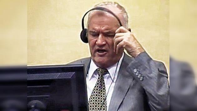 El Tribunal de la Haya solicita a RT una copia de la entrevista a Mladic