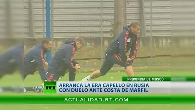 Rusia y Costa de Marfil chocan en un amistoso marcado por el debut de Fabio Capello