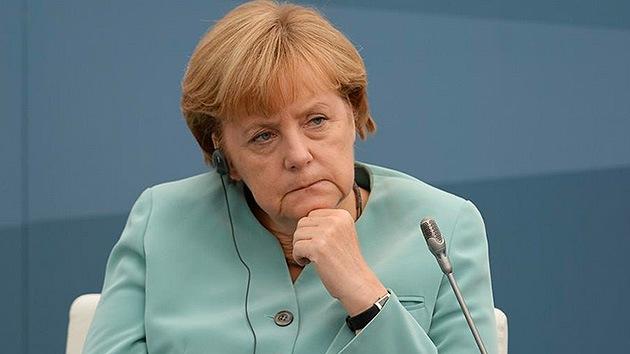 """Merkel """"molesta"""" con los industriales, que exigen poner fin a las sanciones antirrusas"""