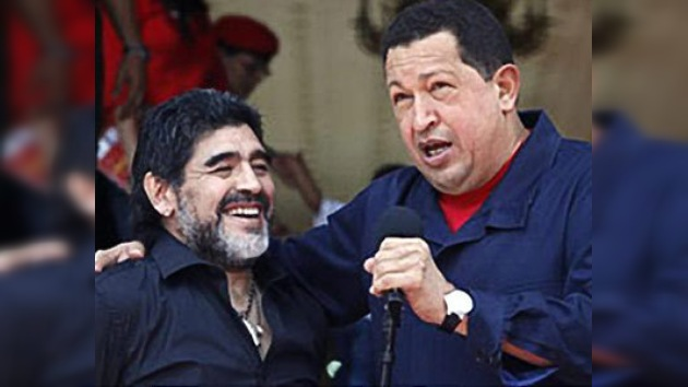 """Maradona en Venezuela: """"No vengo a buscar trabajo"""""""