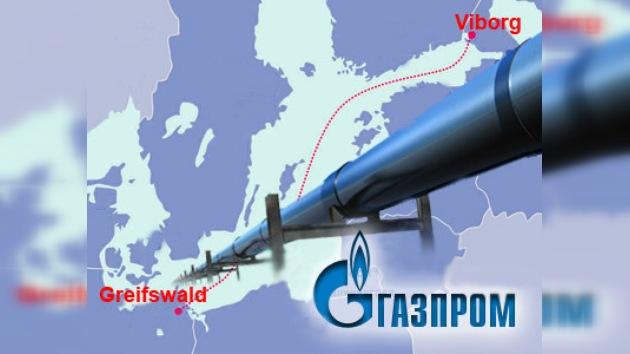 Los primeros segmentos del  Nord Stream ya están en el fondo Báltico