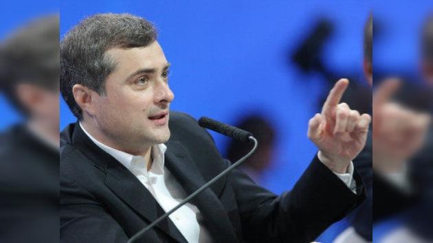 Vladislav Surkov se responsabilizará de la innovación y modernización de Rusia
