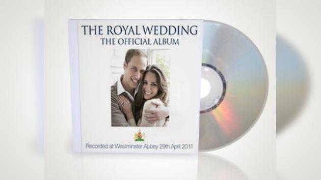 Sale a la venta un CD con los temas musicales de la boda real