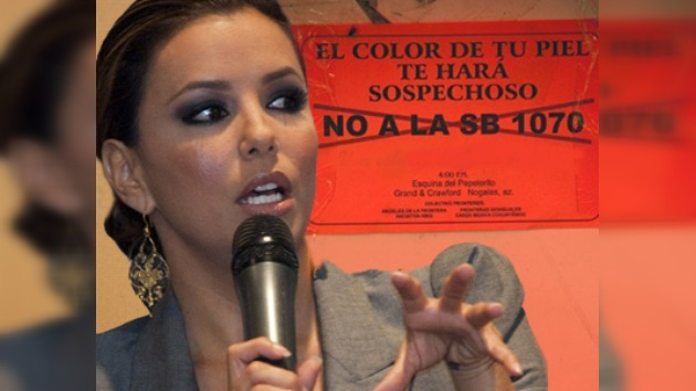 Eva Longoria se suma a la oposición contra la ley de Arizona