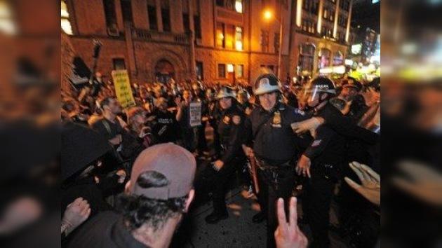 Medios vs Indignados: una lucha desigual en Wall Street