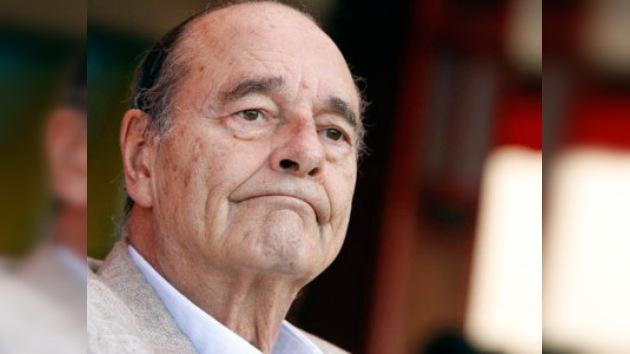 El ex presidente francés Jacques Chirac, incapaz para presentarse al juicio en su contra