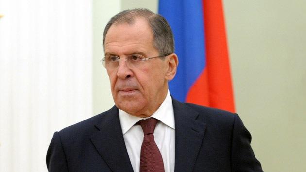 Lavrov: Occidente trata de demostrar su exclusividad, en vez de cumplir el derecho internacional