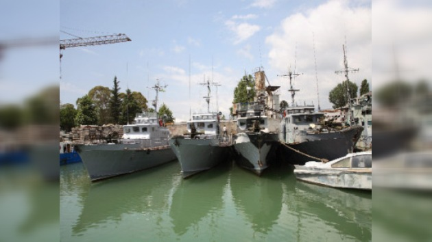 Lanchas patrulleras rusas vigilarán la frontera marítima de Abjasia