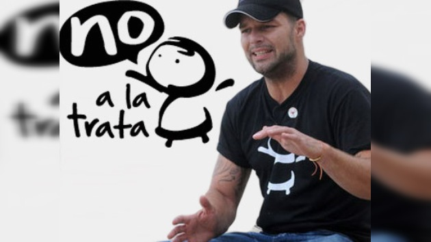 La Fundación Ricky Martin contra el tráfico de personas