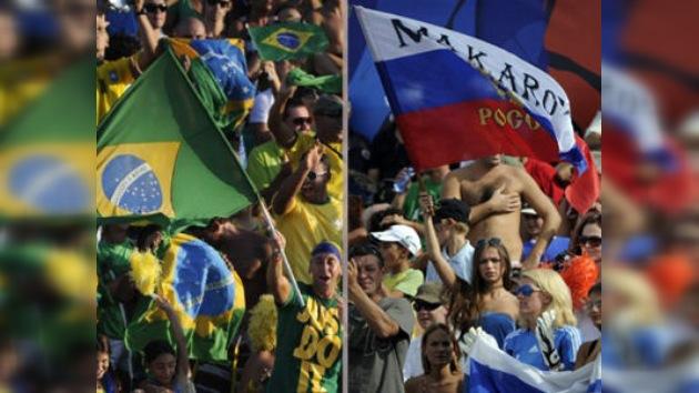 Rusia pasa a la final del Mundial de fútbol playa y se medirá a Brasil