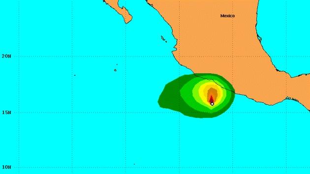 Tormenta tropical Raymond se convierte en huracán al acercarse a Acapulco