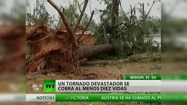 Un devastador tornado se cobra al menos diez vidas en EE. UU.