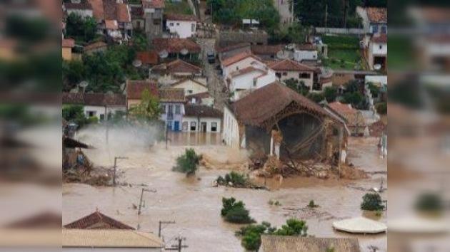 Fuertes lluvias azotan Perú, Brasil y Ecuador