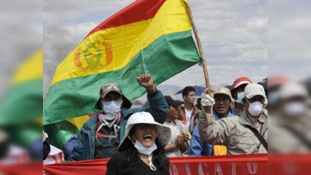 Las protestas sociales en Bolivia merman la popularidad de Evo Morales