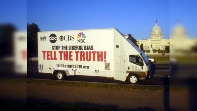 Una campaña enseña en los transportes cómo no hay que mentir