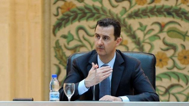 Assad: el conflicto sirio duraría dos semanas si Turquía cesara de ayudar a los rebeldes