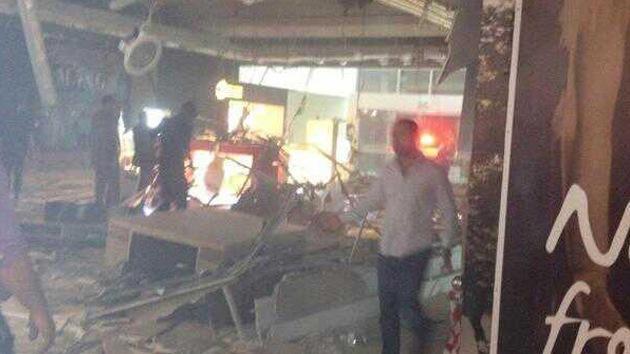 Foto: Fuerte explosión en un centro comercial de la capital de Jordania