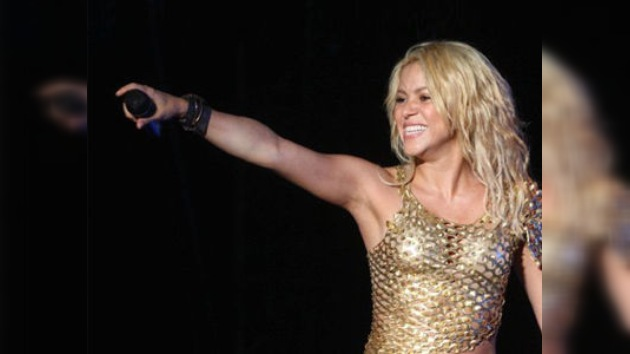 Shakira 'enloquece' a miles de aficionados durante un concierto en México