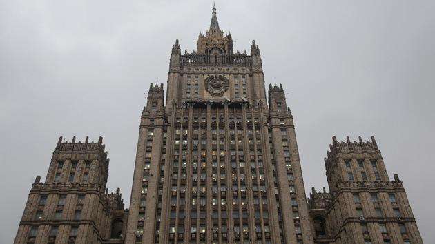 """Cancillería rusa: """"Kiev inicia una campaña militar que puede llevar a una guerra civil"""""""