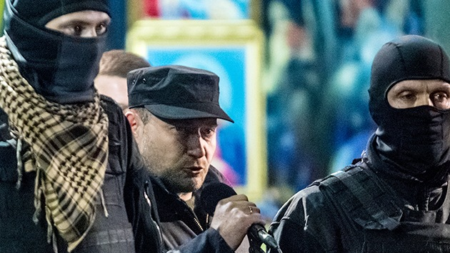 El líder de la ultraderecha es elegido diputado del Parlamento de Ucrania