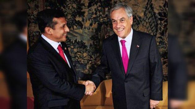 Ollanta Humala desmiente su apodo de 'antichileno' y se dirige a Santiago