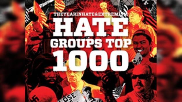 El número de 'grupos de odio' en Estados Unidos sobrepasa el millar