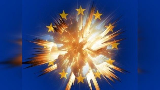 """Sarkozy: """"Nunca el riesgo de explosión en Europa ha sido tan grande"""""""