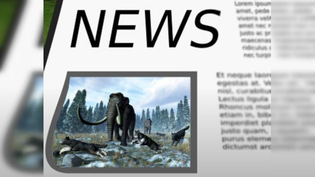 Captan en vídeo a un mamut lanudo en Siberia, ¿realidad o invento mediático?