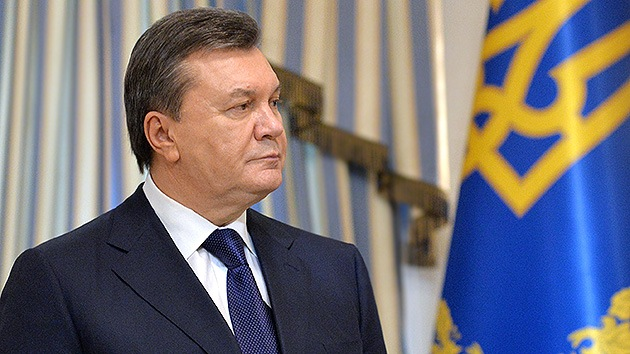 Yanukóvich sigue considerándose el presidente legítimo de Ucrania