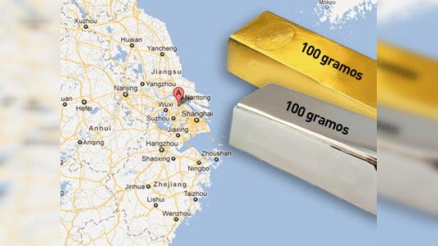 Oro y plata para todos en el pueblo más rico de China