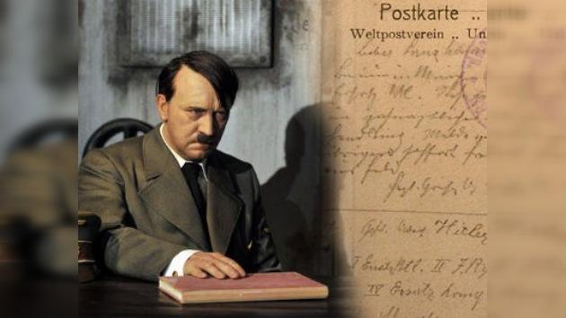 Una postal desconocida de Hitler revela su mala ortografía