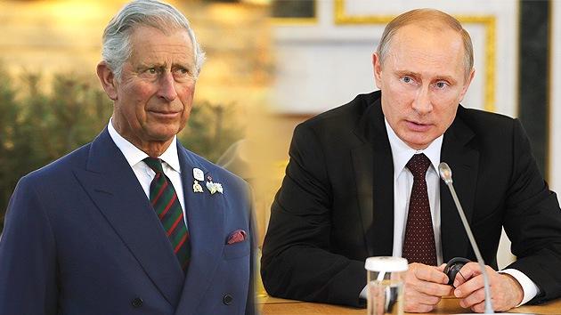 Putin: El príncipe Carlos no se comportó como la realeza al compararme con Hitler