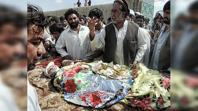 Un ataque aéreo de la OTAN mata 6 niños en Afganistán