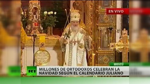 La Iglesia Ortodoxa Rusa celebra la Navidad