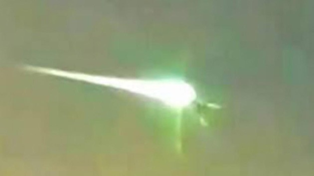 Video, fotos: Un meteorito cae en el norte de Argentina