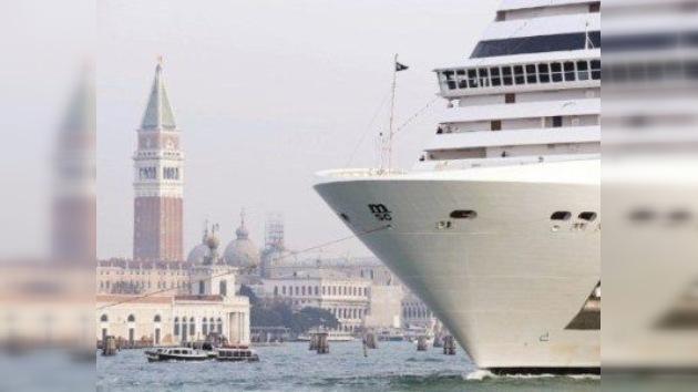 La UNESCO dice 'no' al tráfico de cruceros por Venecia