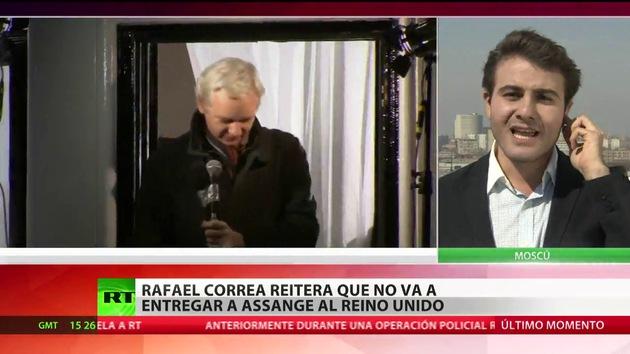 Assange critica a Londres por los gastos extra al recibir nuevas garantías de Ecuador