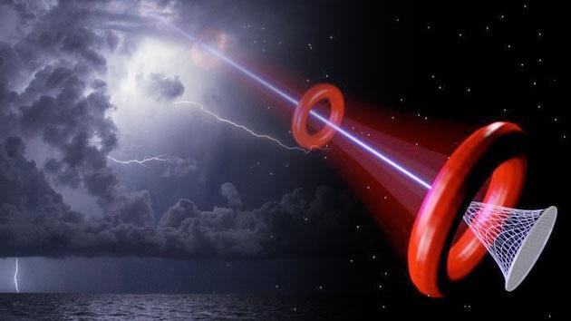 Científicos del Pentágono inventan un láser para sacar lluvia y relámpagos de las nubes
