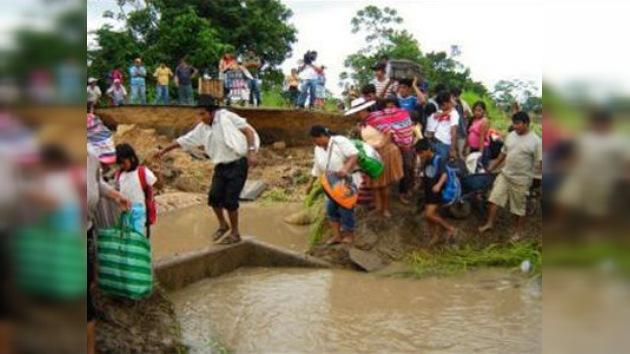 Declaran el estado de emergencia en Bolivia por las fuertes lluvias