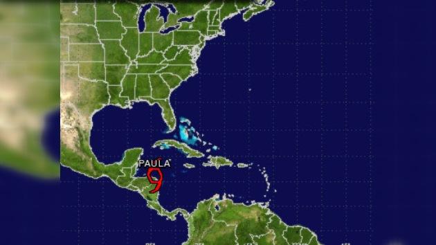 Tormenta tropical Paula se forma en costa de Honduras